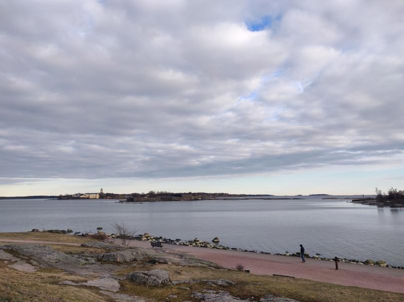 Seashore in southern Helsinki