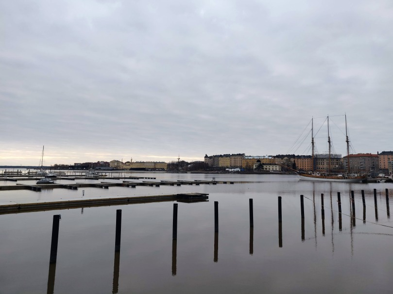 View of Helsinki from southern seaside